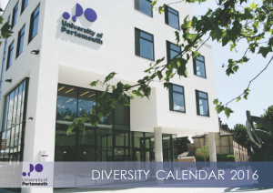 University_of_Portsmouth_2016_Diversity_Calendar